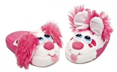 Stompeez Puppy slippers- papuci