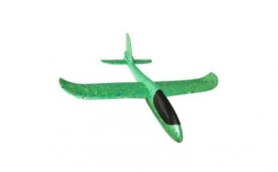 Avion planor verde