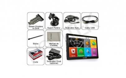 "GPS AUTO HD 7"" PREMIUM 8GB FULL EUROPA"