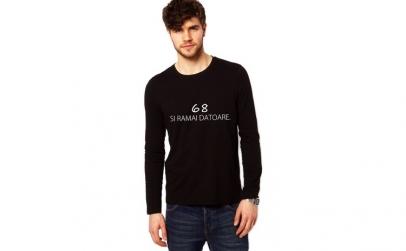 Bluza neagra, barbati, Ramai Datoare