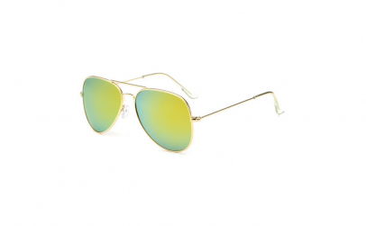 Ochelari de soare aviator Gold