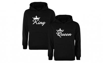 Set de hanorace pentru cupluri Crown