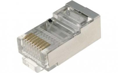 Set 10 bucati, Conector, Mufa FTP, RJ4