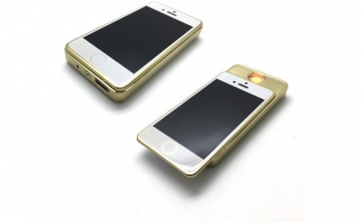 Bricheta anti vant, in forma de iPhone