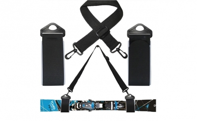 Accesoriu pentru carat schiuri