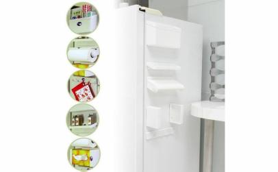 Dispenser bucatarie 5 in 1 cu magnet