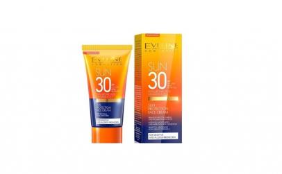 Crema de fata cu protectie solara SPF