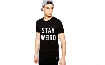 Tricou negru barbati  - Stay Wired