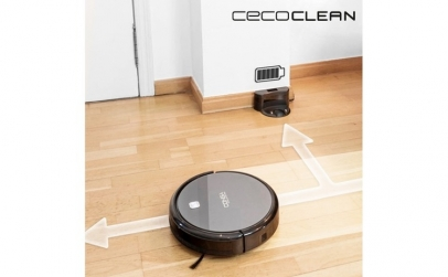 Robot aspirator cu mop si rezervor