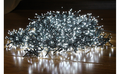 Instalatie  500 LED 11 m lumina rece