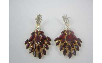 Cercei Luxury Crystal Red