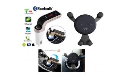 Modulator auto + Suport telefon auto