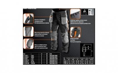 Pantalon de lucru NEO TOOLS 81-220 L/52