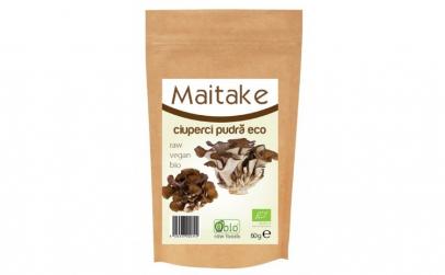 Ciuperci Maitake pulbere raw bio 60g