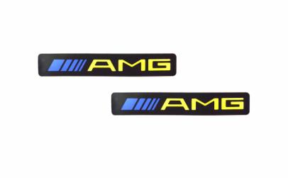 """2 x ornament prag led """"AMG"""""""