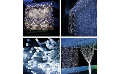 Instalatie 340 LED Ploaie de lumini 6X1m