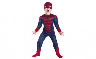 Costum Spiderman cu muschi pentru copii