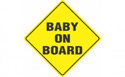 Baby on board - Sticker Autocolant