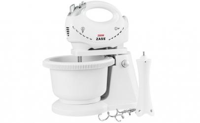 Mixer cu bol Zass ZHM 05BB, 200W, 5