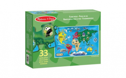 Puzzle de podea Harta Lumii World Map