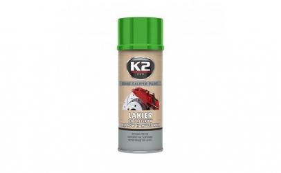 Vopsea spray etrier verde 400 ml, K2