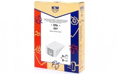 Sac aspirator ETA 419, hartie, 5X saci +