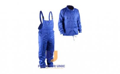 Costum Albastru Haina si Pantalon cu
