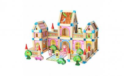 Joc constructie lemn Castelul