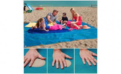 Patura-plasa de plaja anti nisip
