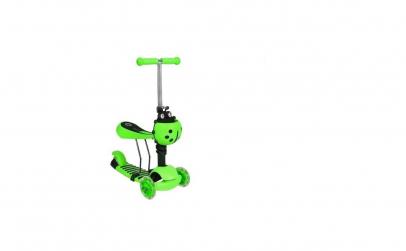 Trotineta pentru copii buburuza verde