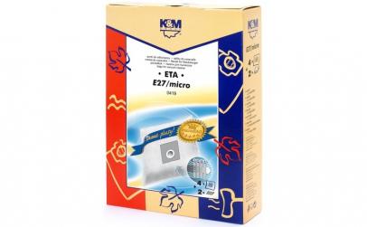 Sac aspirator ETA 419, sintetic, 4X saci