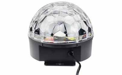 Glob Led cu lumini disco, mp3 player