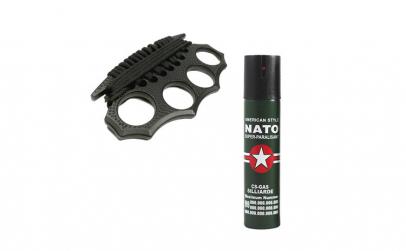 Spray NATO, cadou box model 2019 cu snur