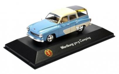 Macheta Auto Wartburg 311-5 Camping 1:43