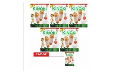50 plasturi Kinoki + 10 plasturi gratuit