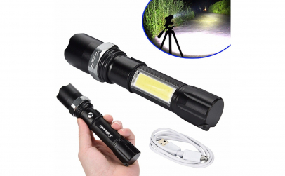 Lanterna SWAT LED 3W CREE Q5 cu lampa