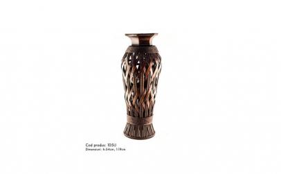 Vaza decorativa impletita din ratan 54