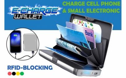 Baterie externa portofel