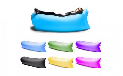 Set Saltea gonflabila Air Sofa Lazy Bag