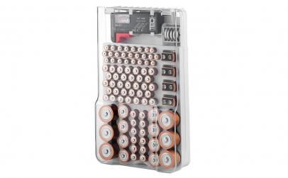 Suport baterii cu tester de baterii