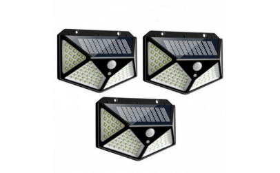 Set 3 lampi 100 LED