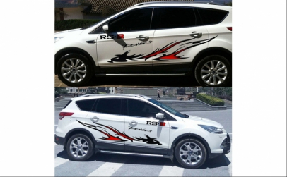 Nou! Sticker auto tuning, 183*30 cm