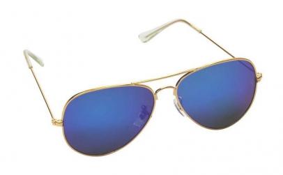 Ochelari de soare aviator, Albastru