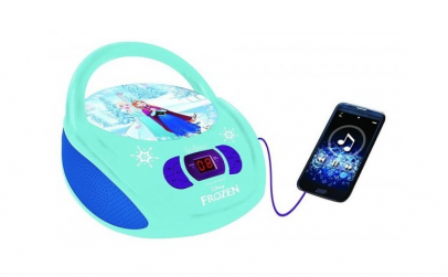 BOOMBOX  RADIO  CD PLAYER DISNEY FROZEN