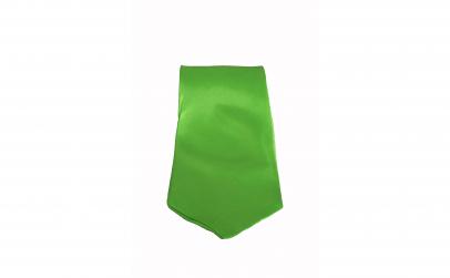 Cravata cu aspect matasos, verde neon