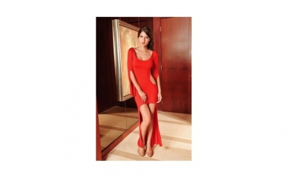 Rochie Sexy Cocktail Red