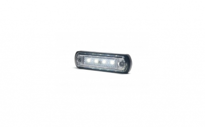 Lampa gabarit 4 LED alb W189-1340 WAS
