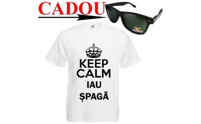 Tricou IAU SPAGA+ ochelari CADOU