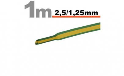 Tub termocontractibilGalben-verde •