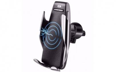 Incarcator Wireless Auto+Cadou Portofel